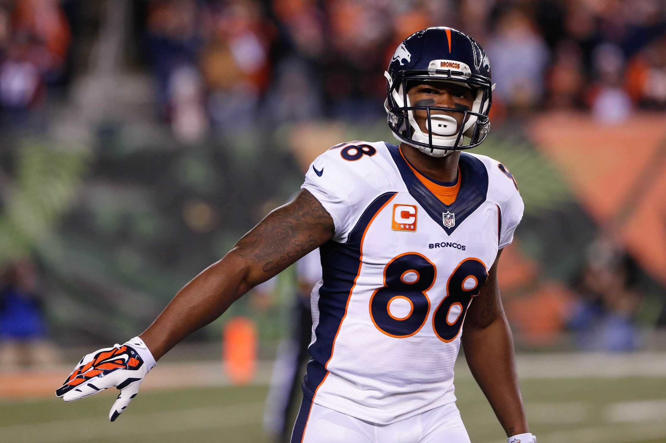 Projecting the Value of Demaryius Thomas